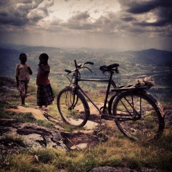 Photo from our hike of Ruganzu's mountain -- the last King of Rwanda