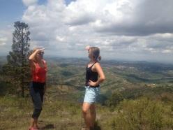 Hiking the hills overlooking Muhanga, Rwanda